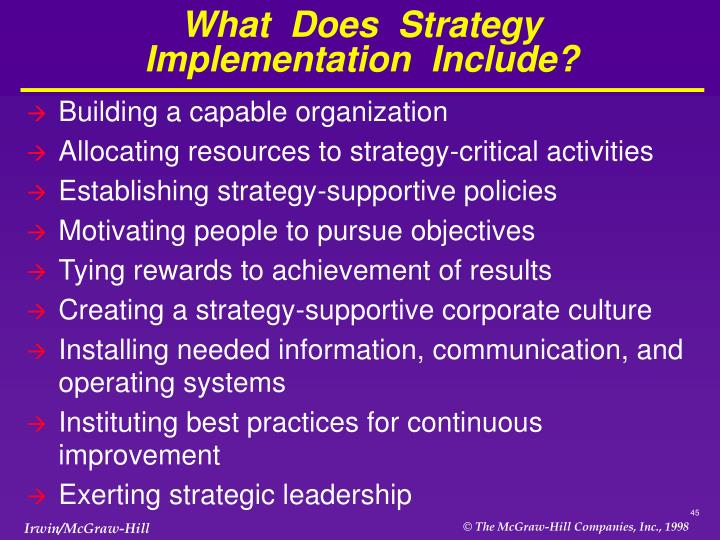 What  Does  Strategy