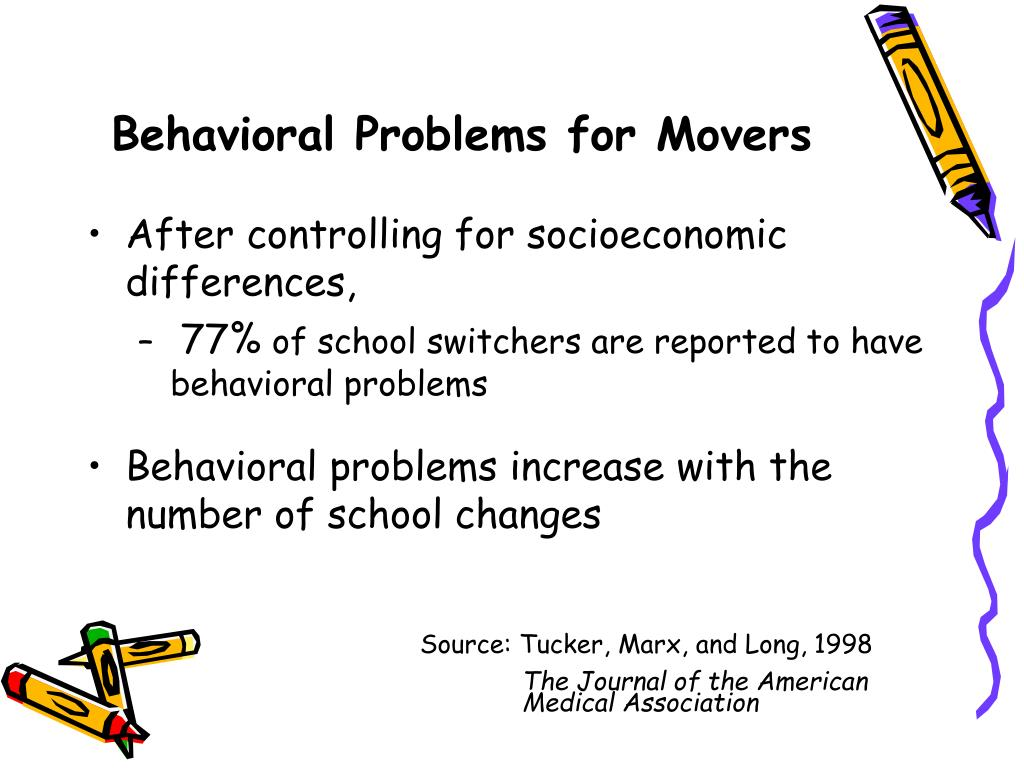 Behavioral Problems for Movers