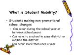 what is student mobility