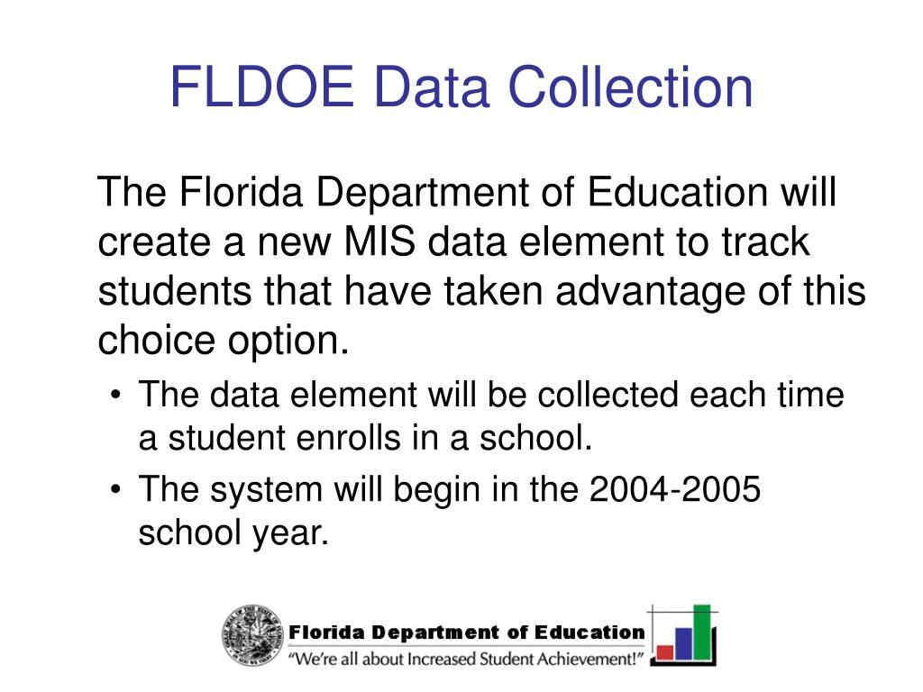 FLDOE Data Collection