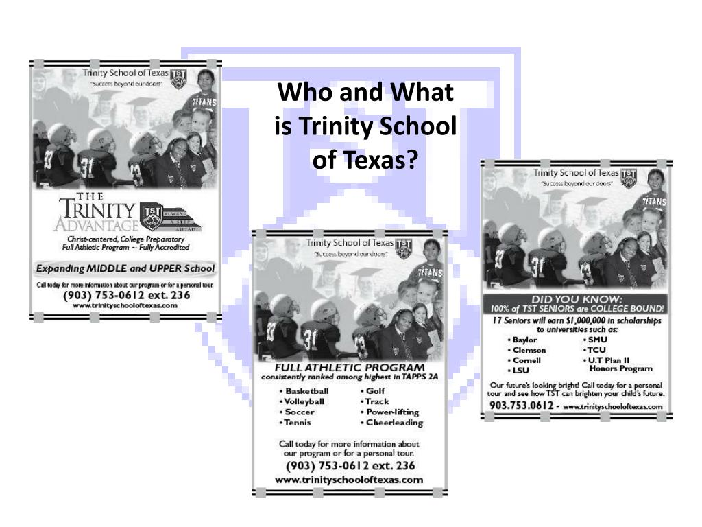 Who and What is Trinity School of Texas?