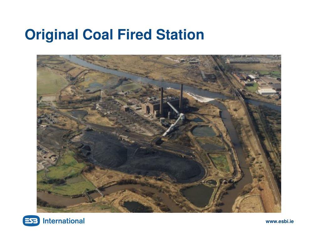 Original Coal Fired Station
