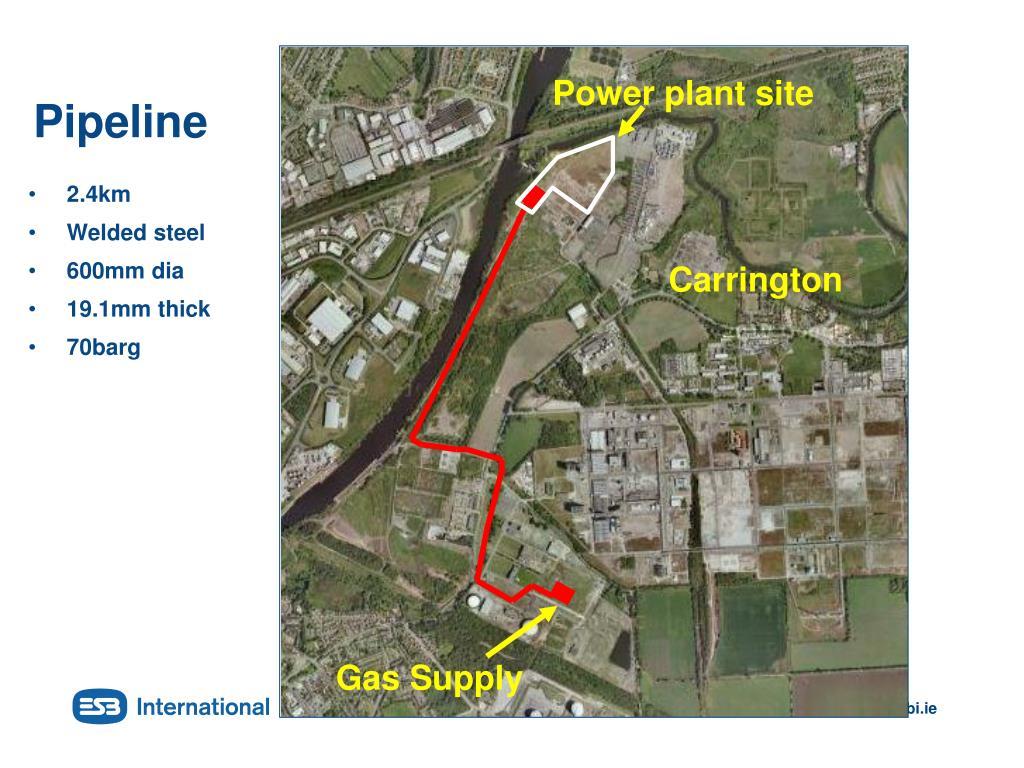 Power plant site