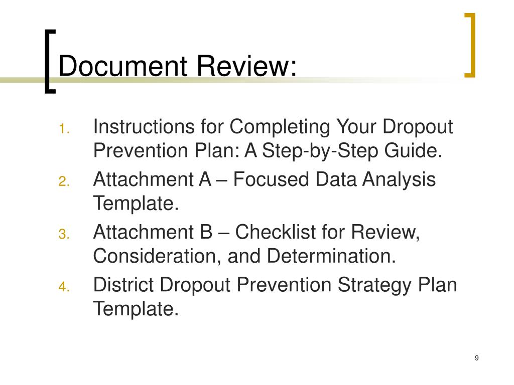 Document Review: