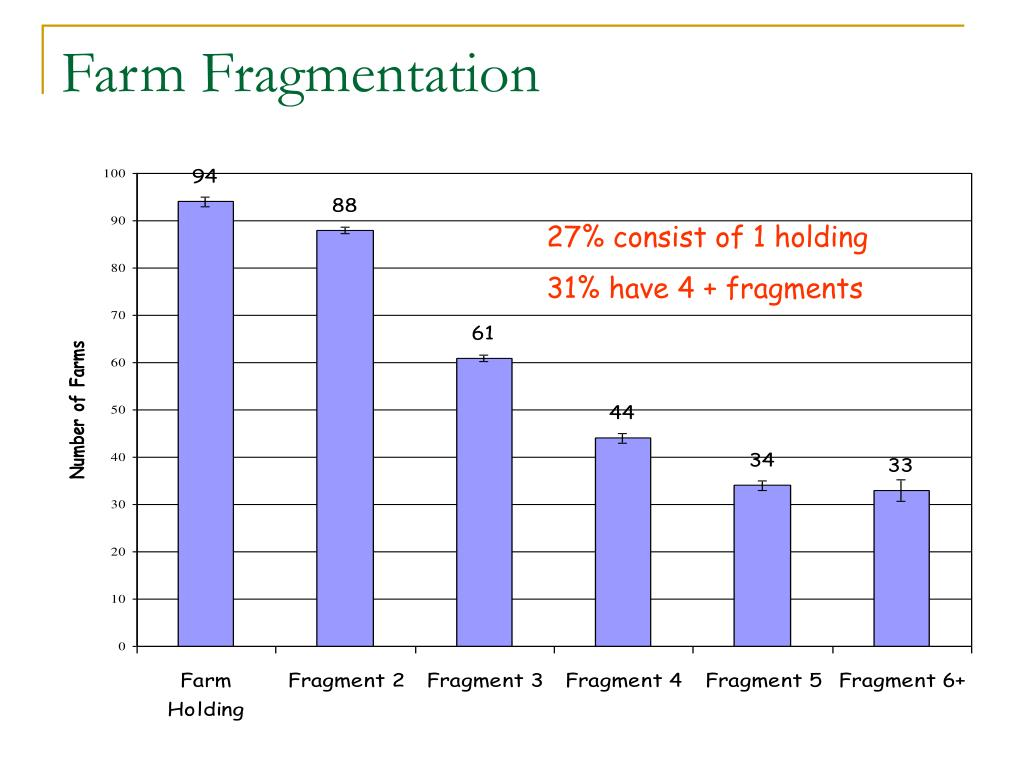 Farm Fragmentation
