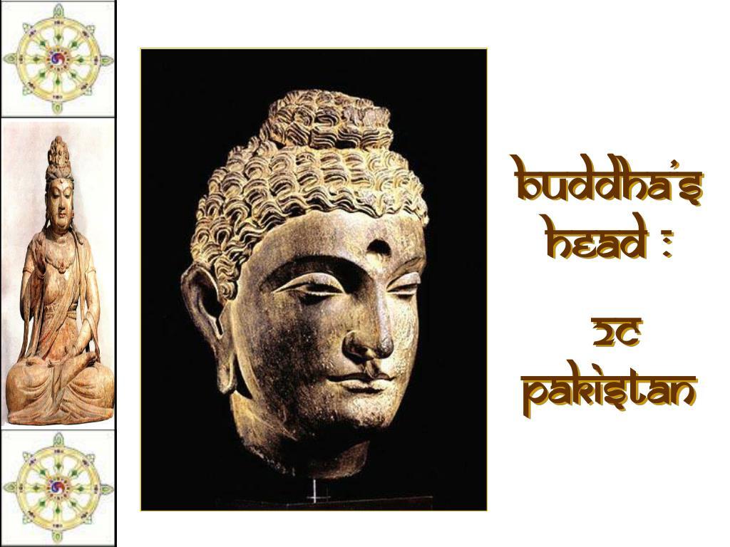 Buddha's head :