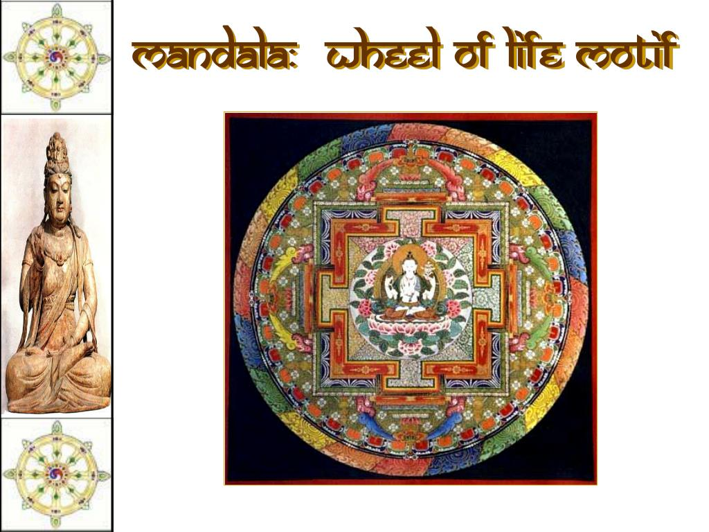 Mandala:  Wheel of Life Motif