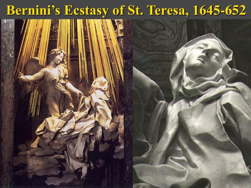 Bernini's Ecstasy of St. Teresa, 1645-652