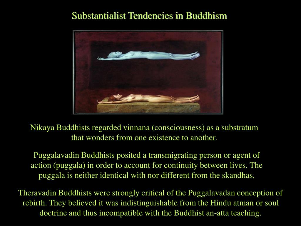 Substantialist Tendencies in Buddhism