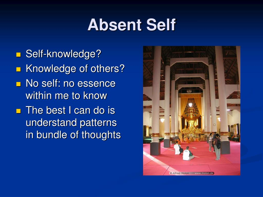 Absent Self