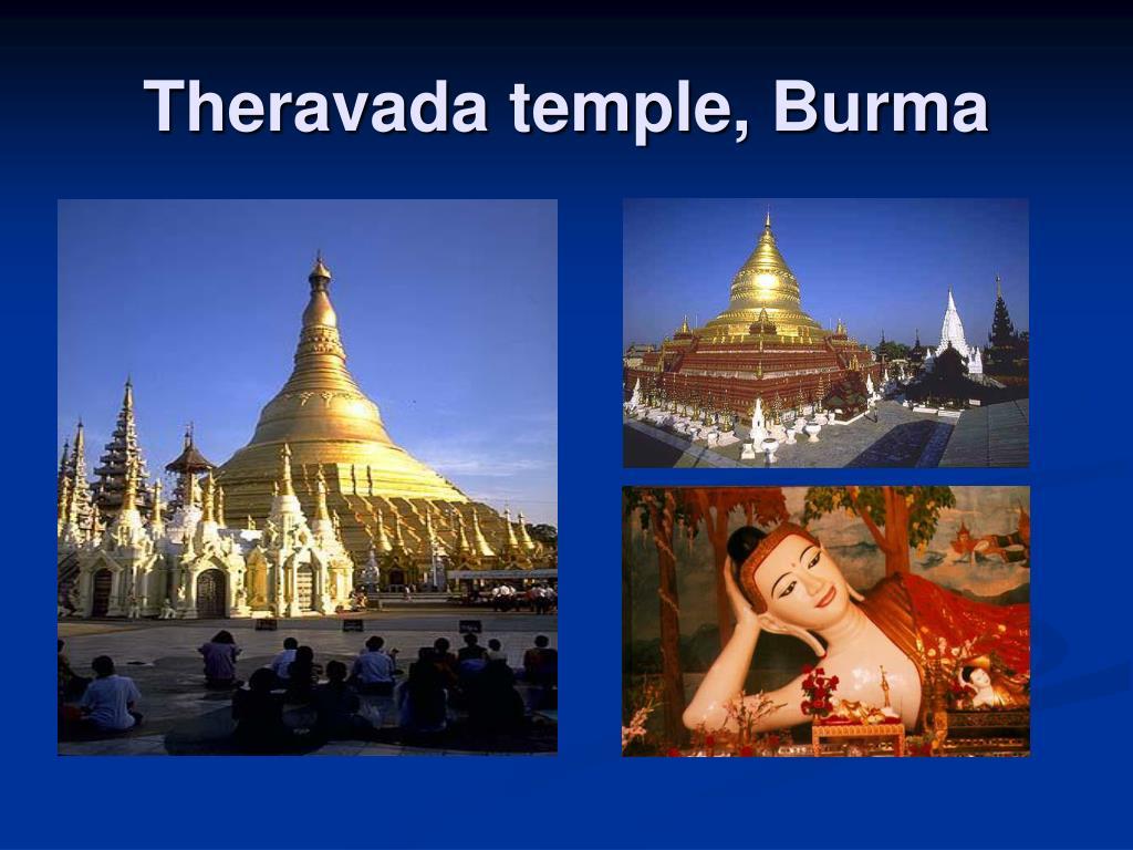 Theravada temple, Burma