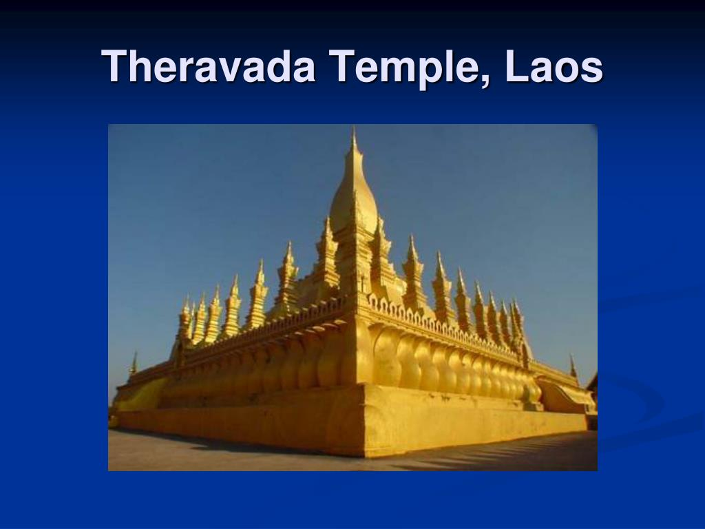 Theravada Temple, Laos