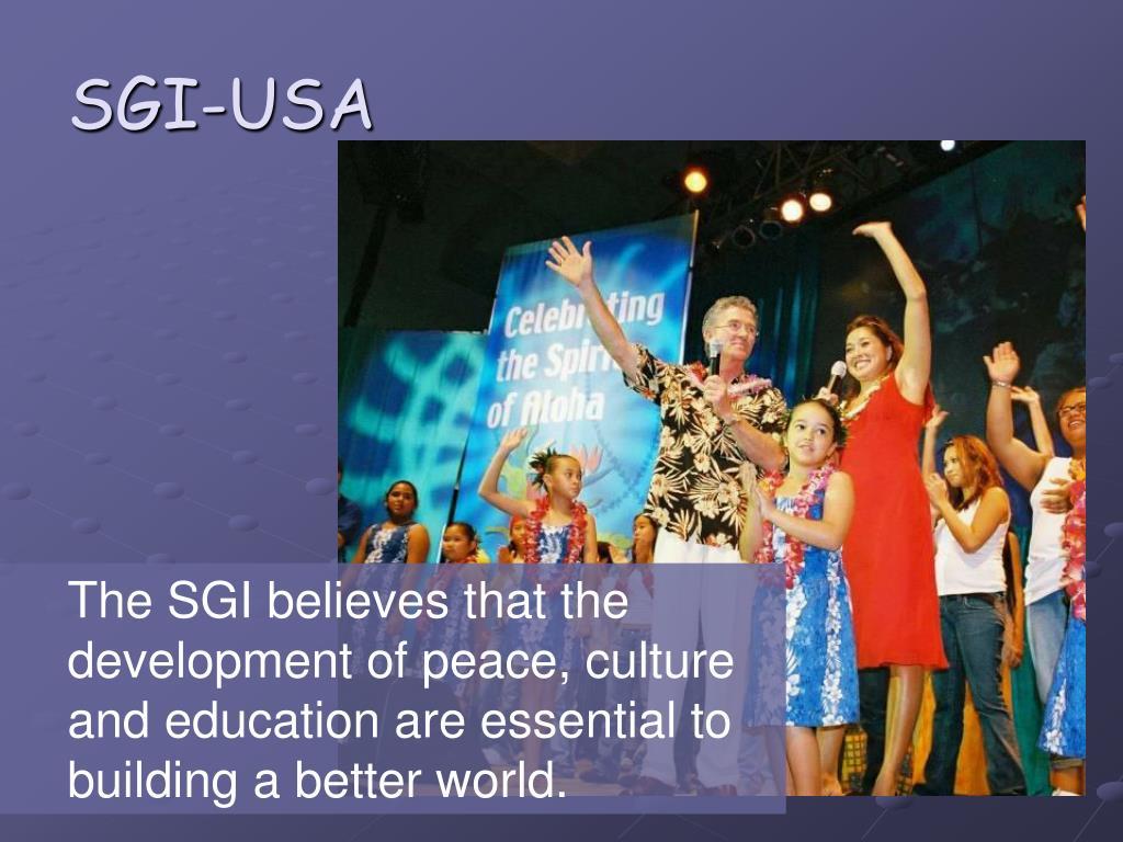 SGI-USA