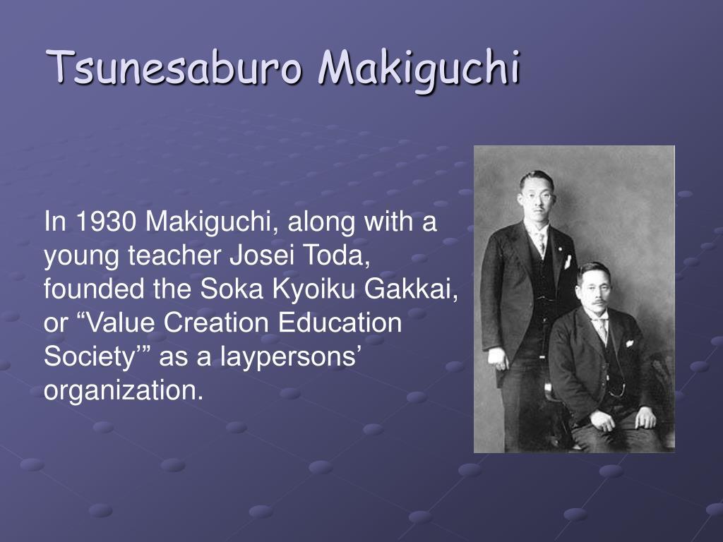 Tsunesaburo Makiguchi