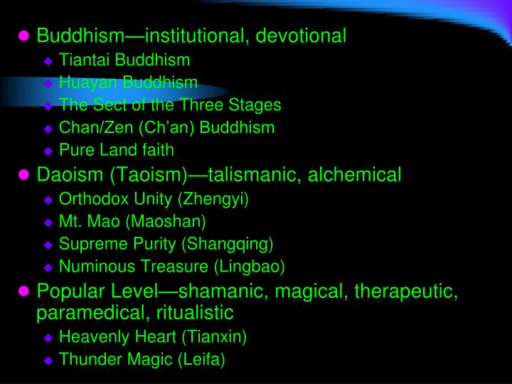 Buddhism—institutional, devotional