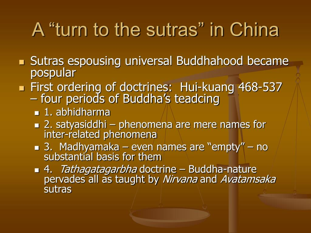 "A ""turn to the sutras"" in China"
