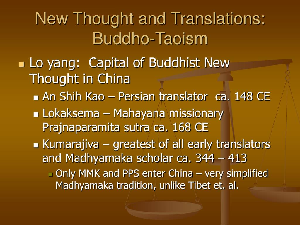New Thought and Translations: