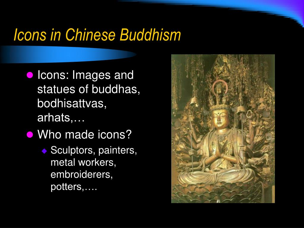 Icons in Chinese Buddhism