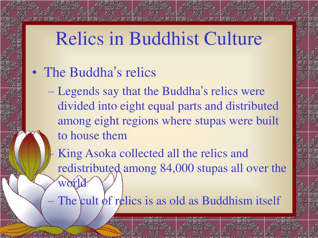Relics in Buddhist Culture