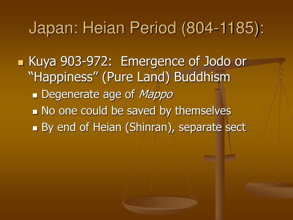 Japan: Heian Period (804-1185):