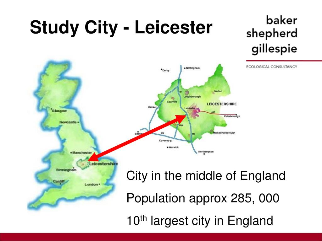 Study City - Leicester