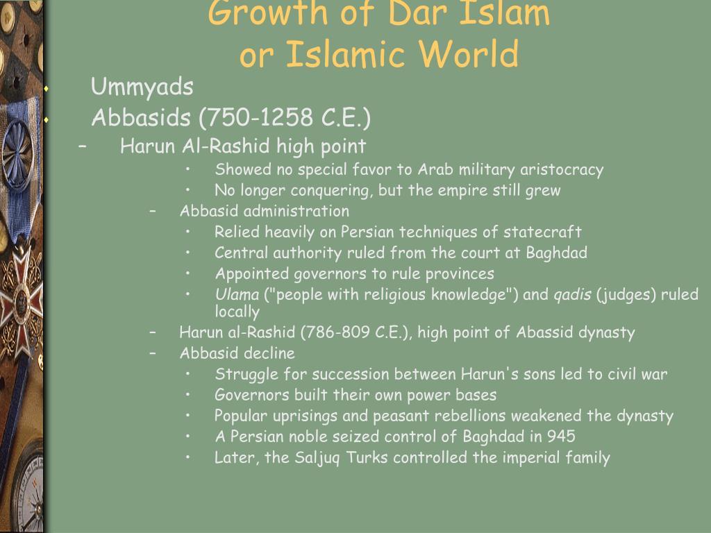 Growth of Dar Islam
