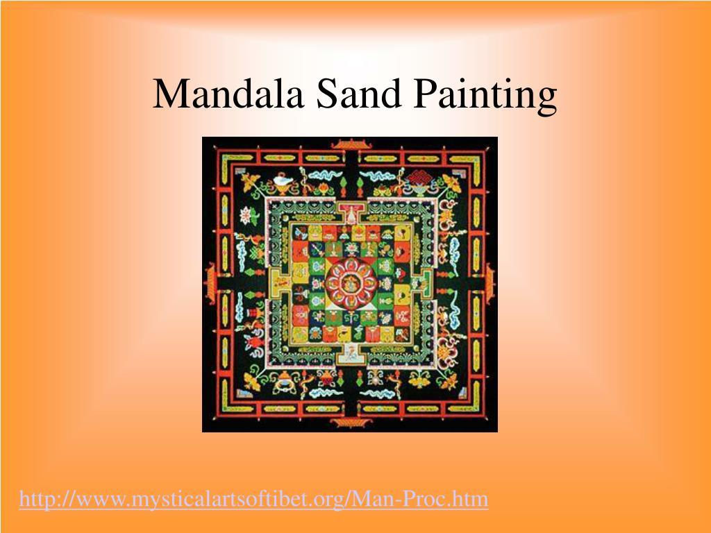 Mandala Sand Painting