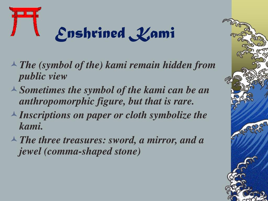 Enshrined Kami