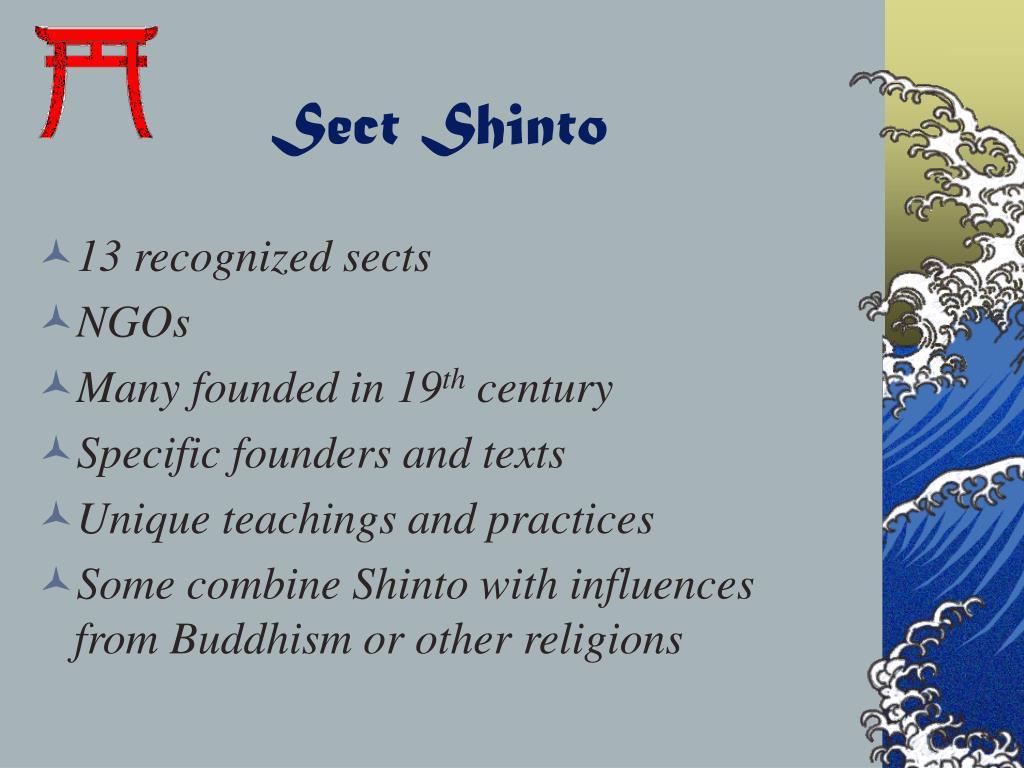 Sect Shinto