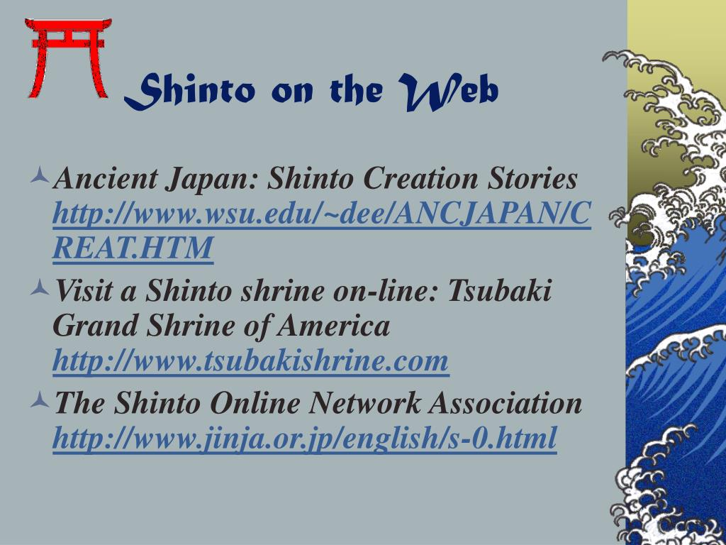Shinto on the Web