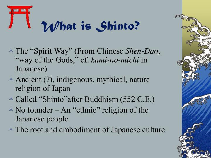 What is shinto