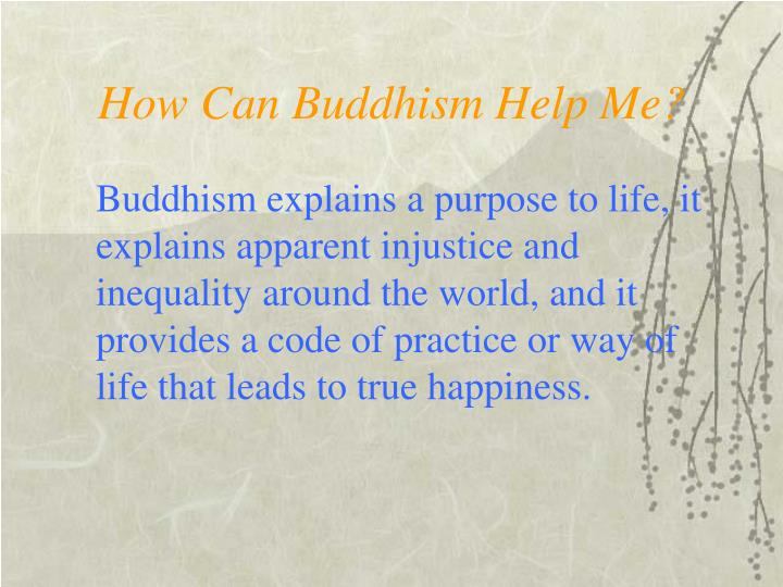 How can buddhism help me l.jpg