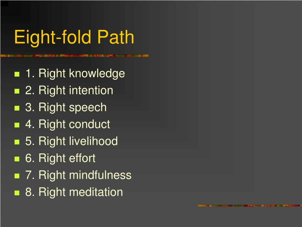 Eight-fold Path