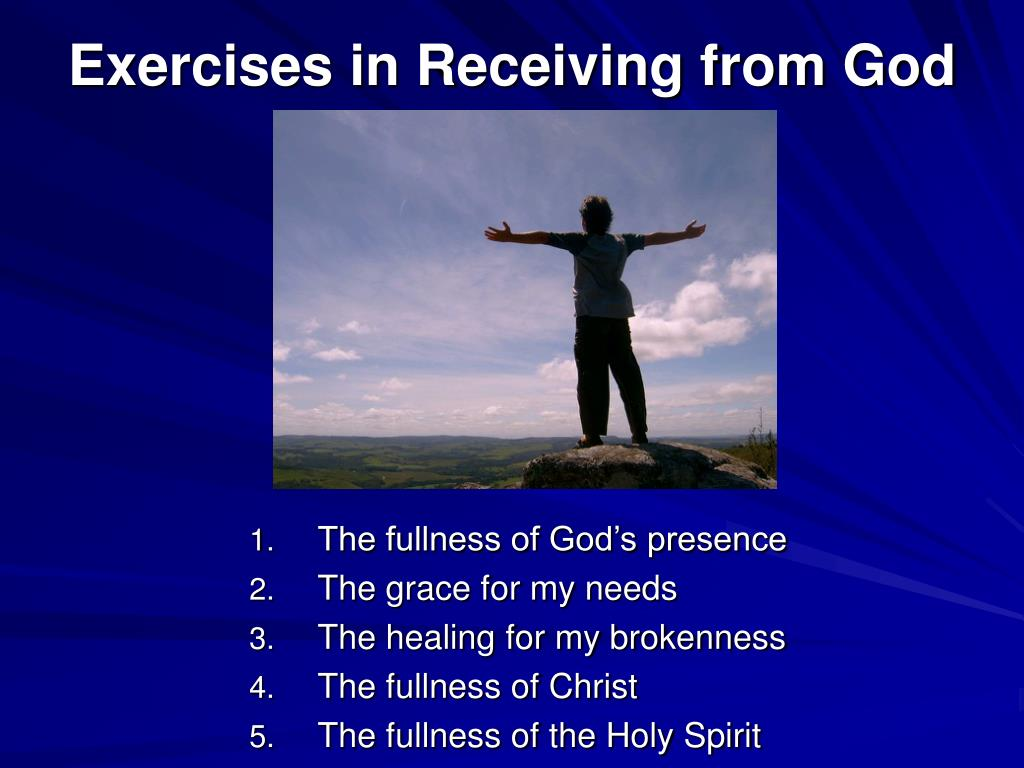 Exercises in Receiving from God