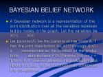 bayesian belief network34