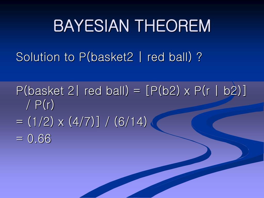 BAYESIAN THEOREM