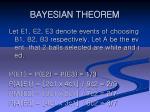 bayesian theorem15
