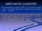 na ve bayes classifier20