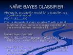 na ve bayes classifier21