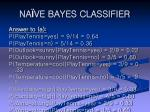 na ve bayes classifier24