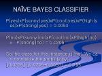 na ve bayes classifier25