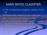 na ve bayes classifier31