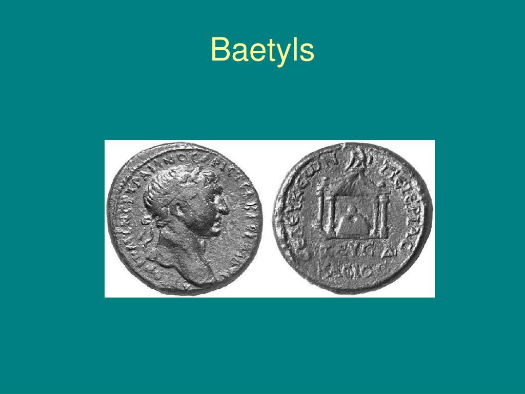 Baetyls