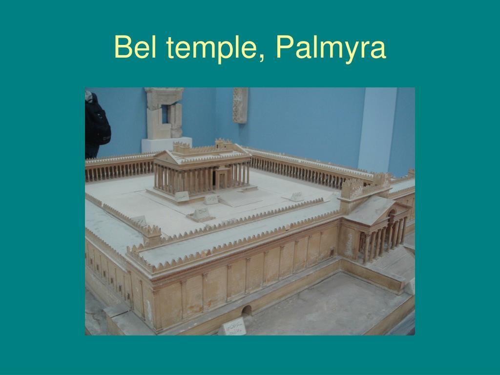 Bel temple, Palmyra