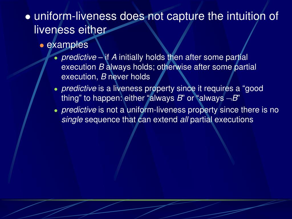 uniform-liveness does not capture the intuition of liveness either