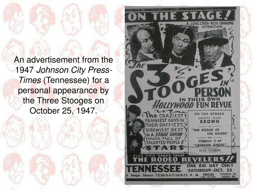 An advertisement from the 1947