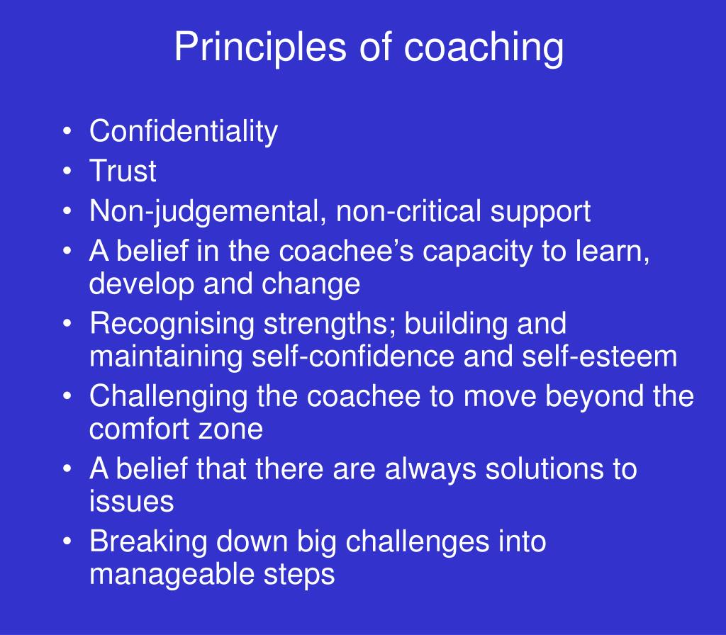Principles, Skills and Impact of Coaching and Mentoring Essay Sample