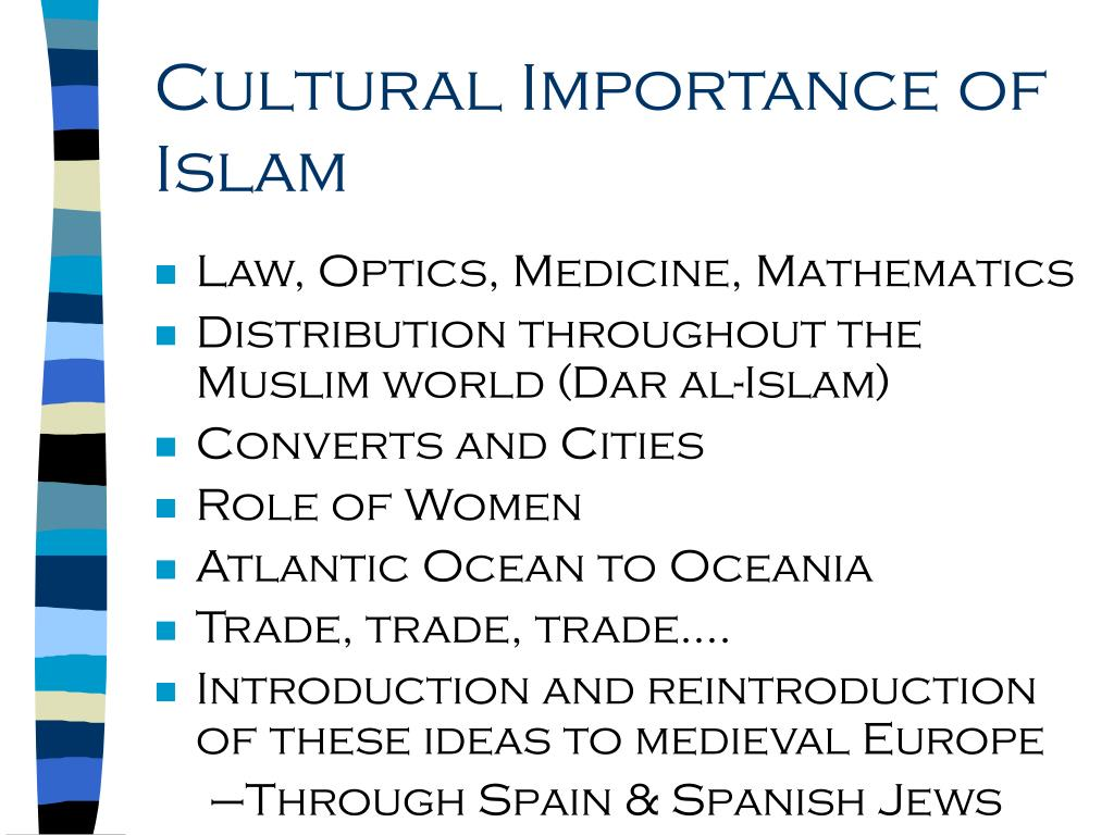 Cultural Importance of Islam