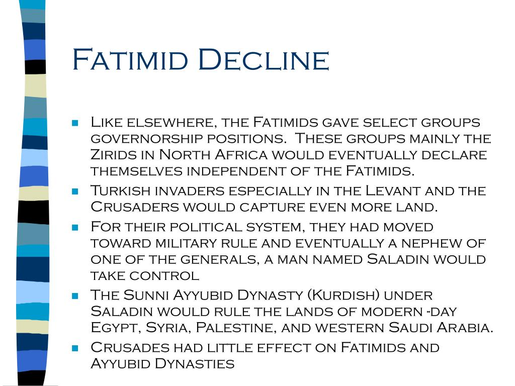 Fatimid Decline