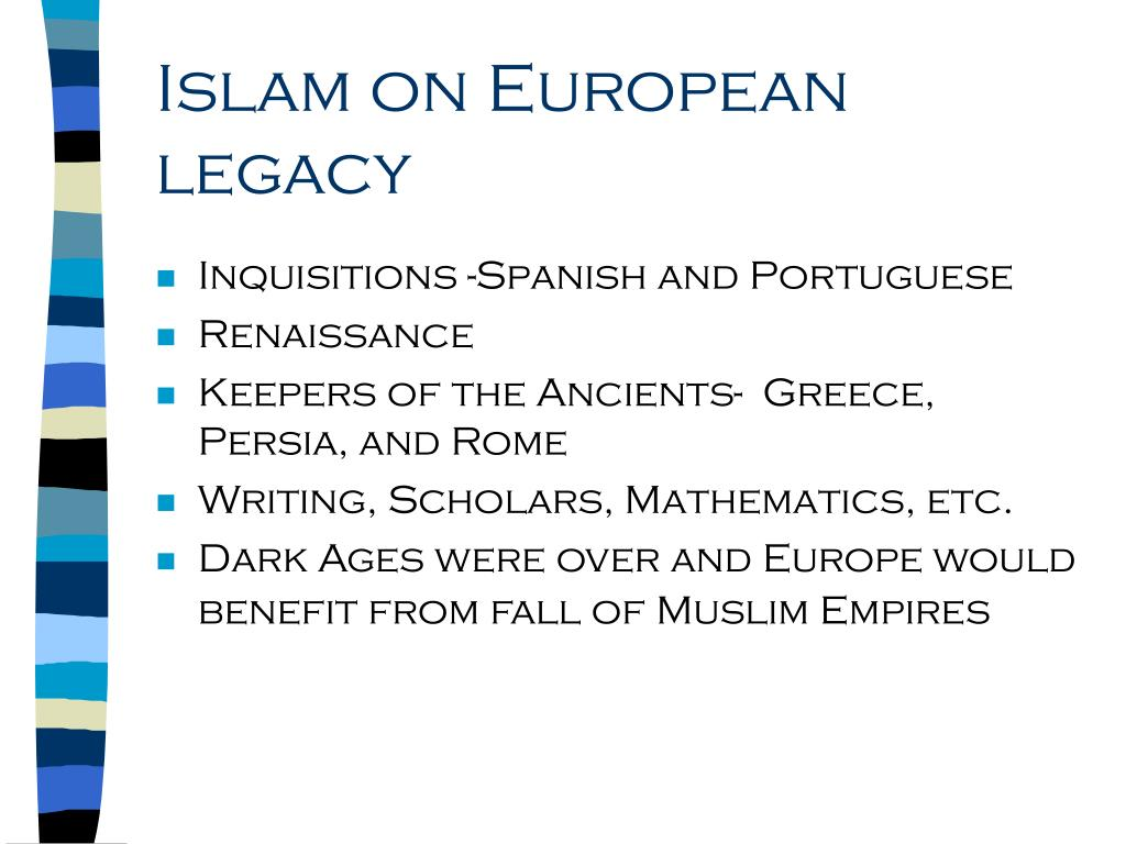 Islam on European legacy
